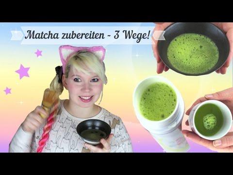Matcha zubereiten! 3 Wege: traditionell, modern, schnell