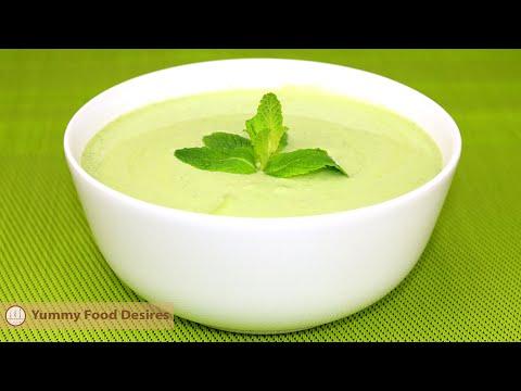 How To Make Coriander Mint Chutney | Green Chutney Recipe | Mint Chutney | Coriander and Mint Sauce
