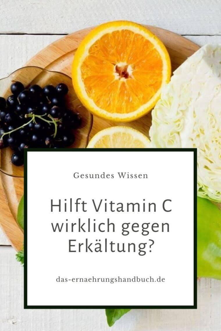 Vitamin C gegen Erkältung