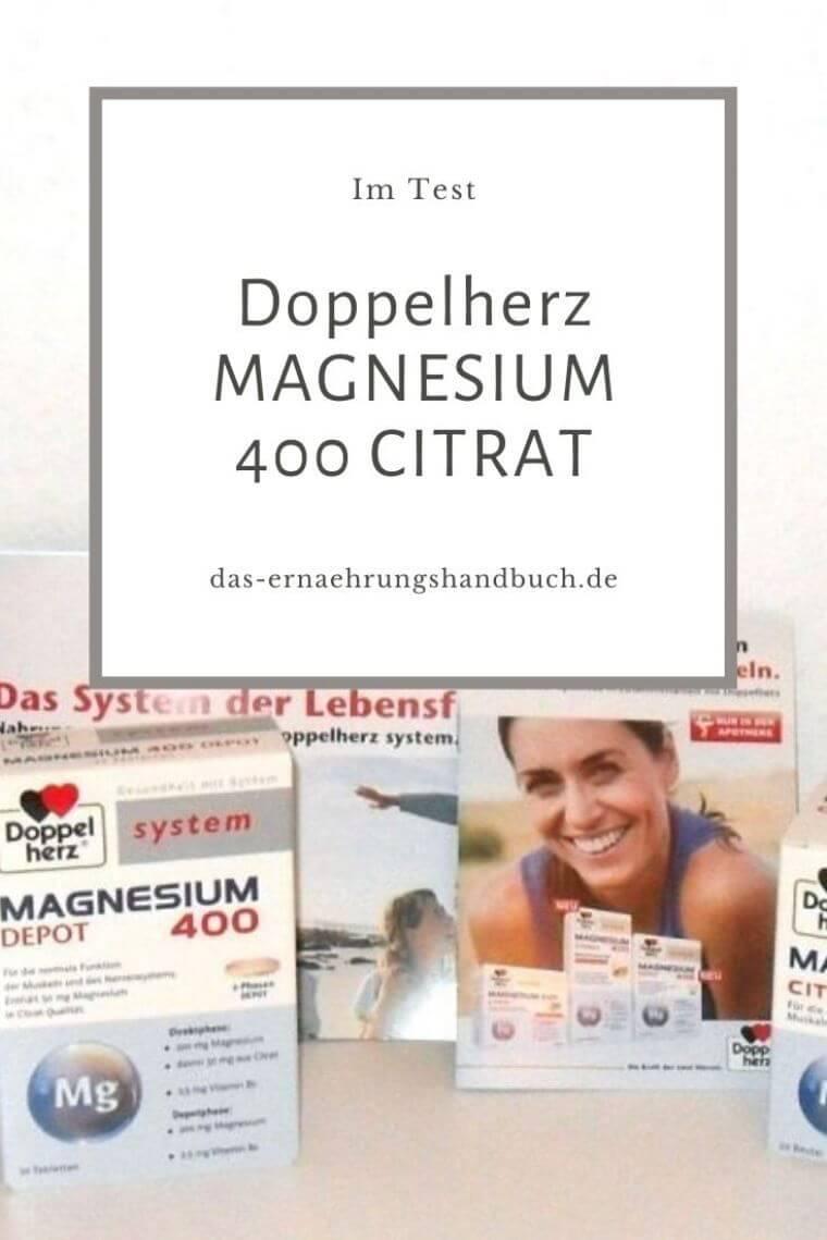 Doppelherz MAGNESIUM 400 CITRAT