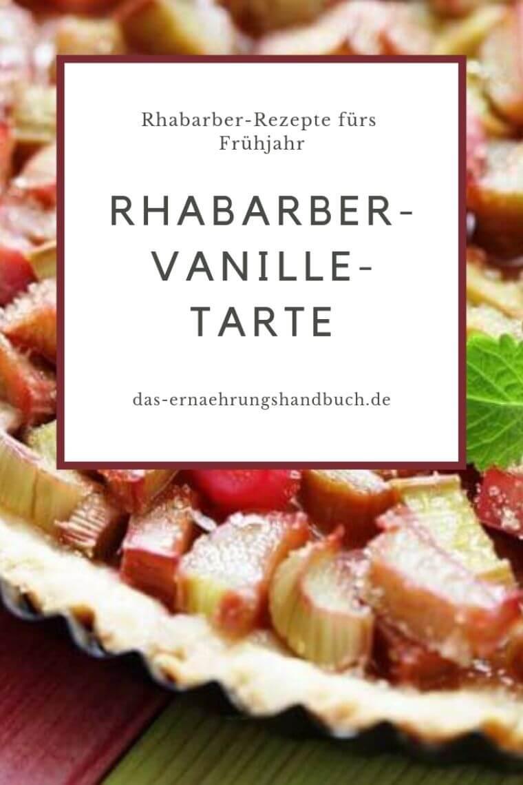 Rhabarber-Tarte, Rhabarber-Rezepte