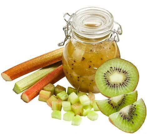 Rhabarber-Kiwi-Marmelade