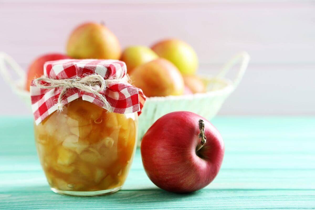 Apfel-Marmelade