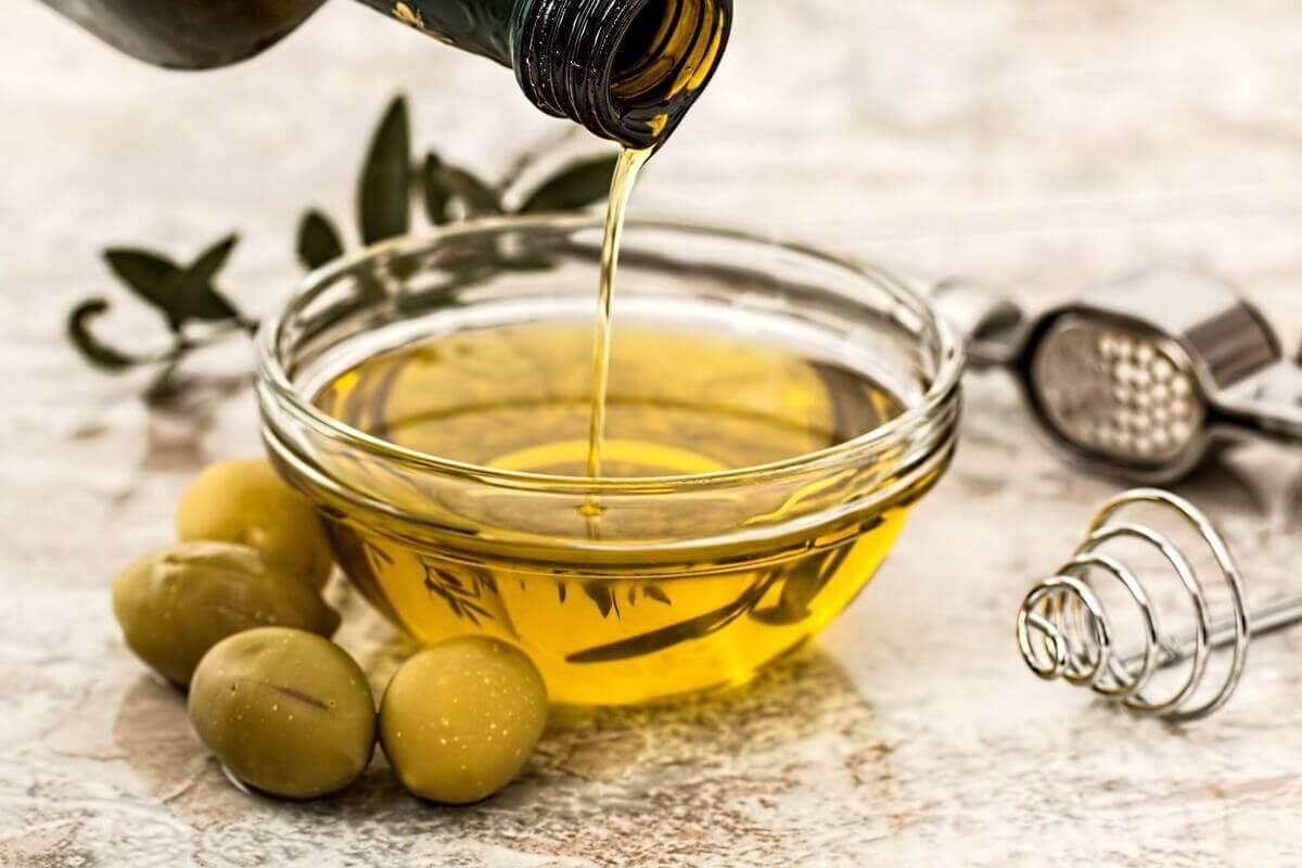 Fett Olivenöl