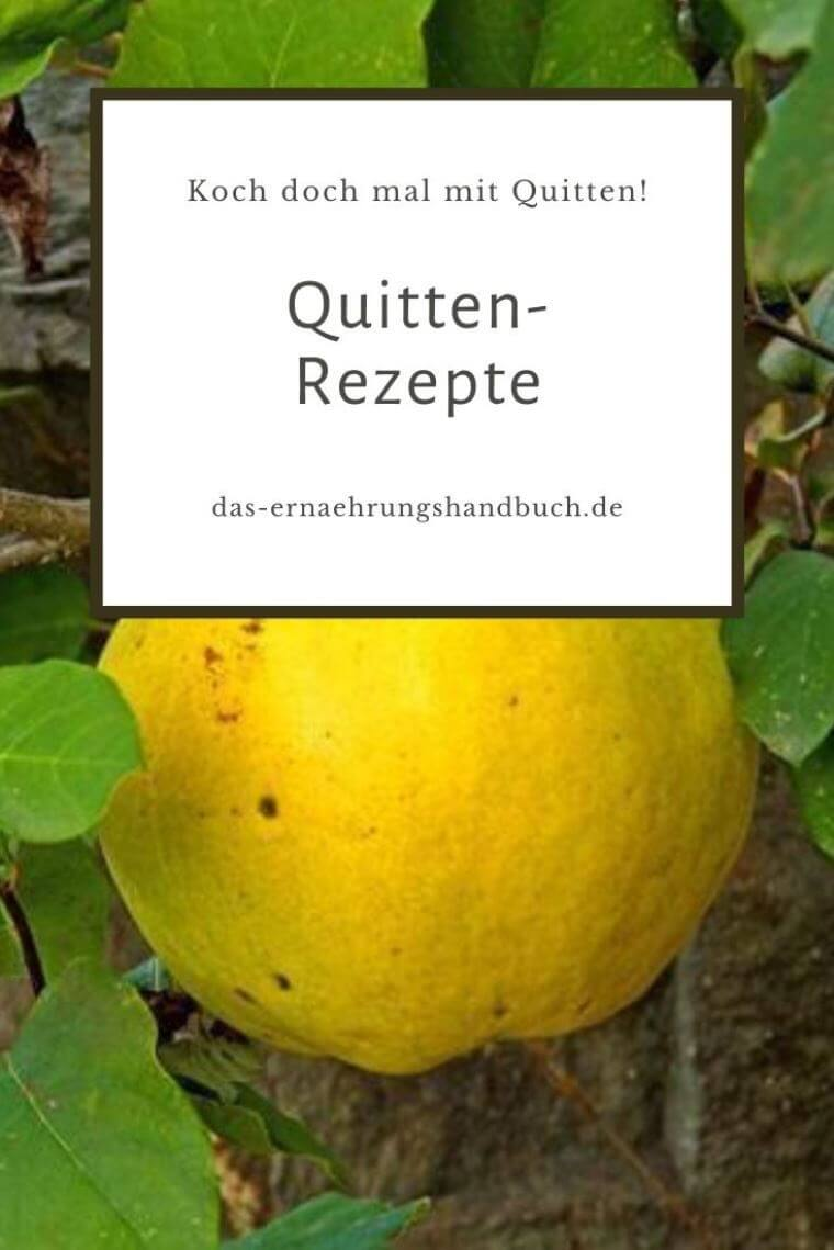 Quitten-Rezepte