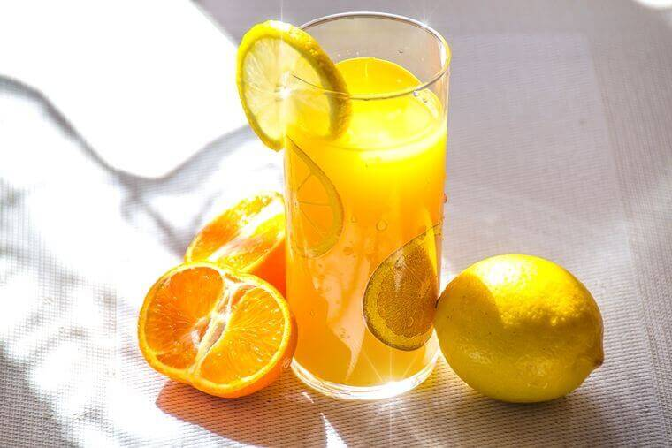Orangen-Zitronen-Limonade