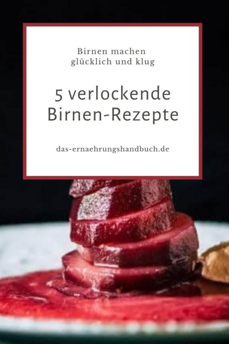 Birnen-Rezepte