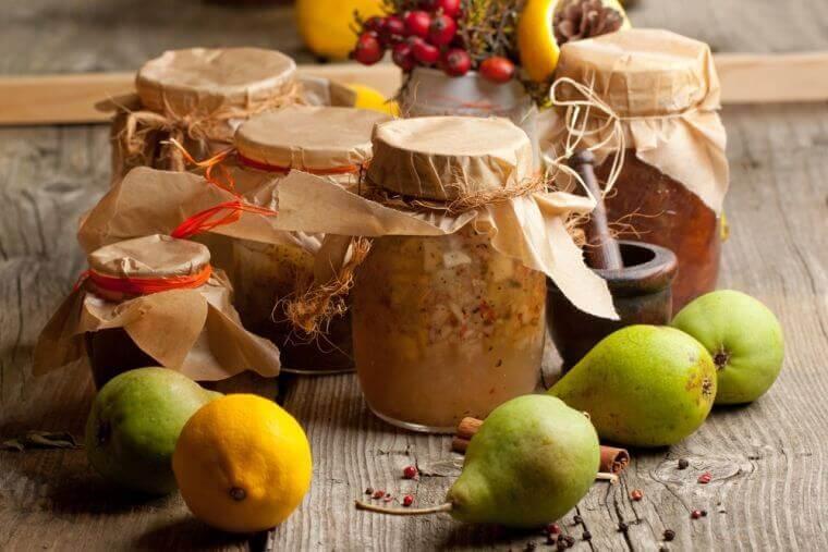 Birnen-Limetten-Marmelade