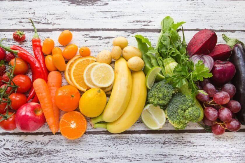 Farbcode der Ernährung