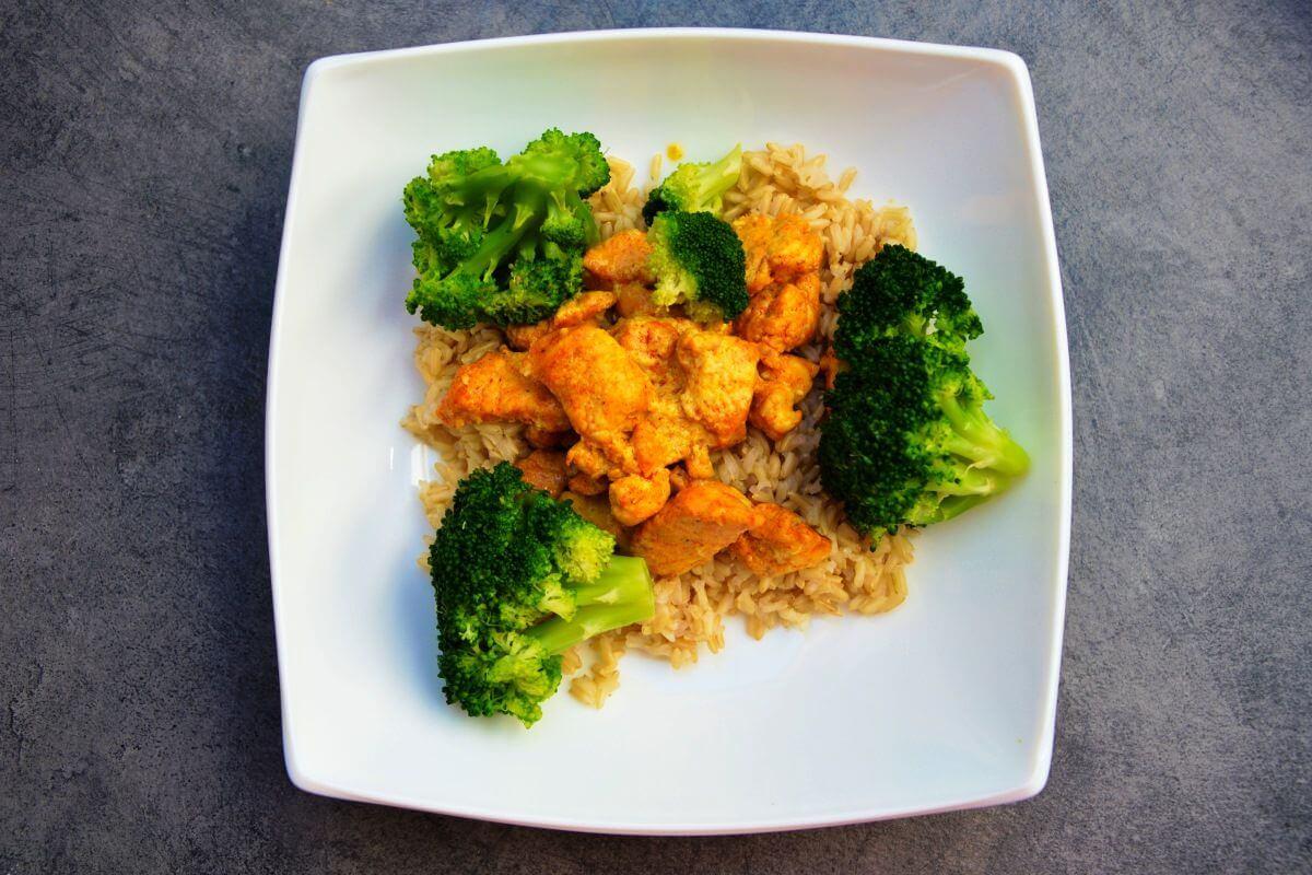 Hühnchenfleisch & Reis