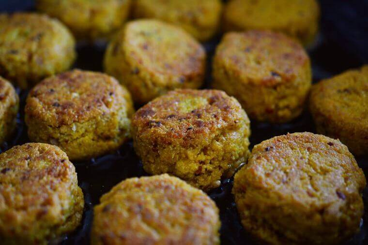 Kichererbsen - Falafel