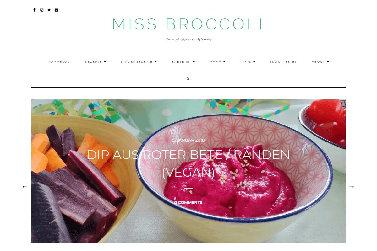 Miss Broccoli