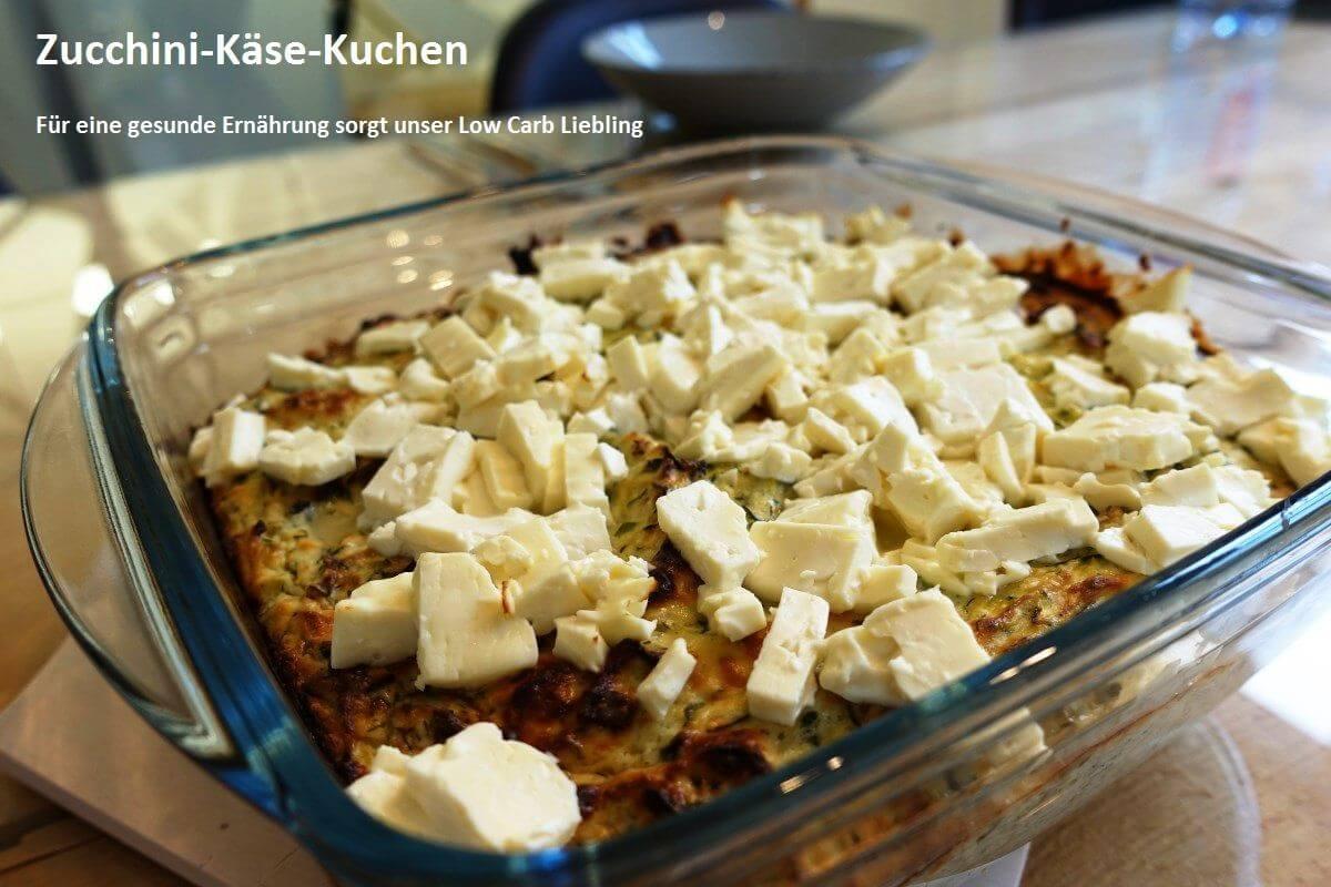 Zucchini-Käse-Kuchen