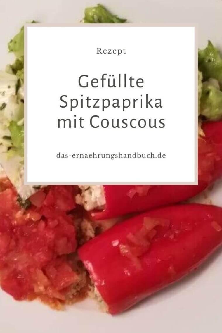 gefüllte Spitzpaprika mit Couscous