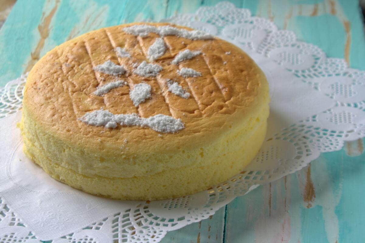 Japanischer Käsekuchen – Cotton Cheesecake