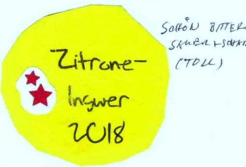 Zitrone-Ingwer-Marmelade