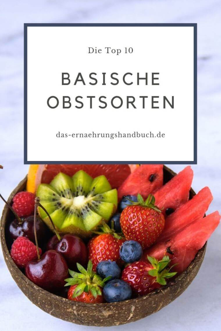 Basische Obstsorten