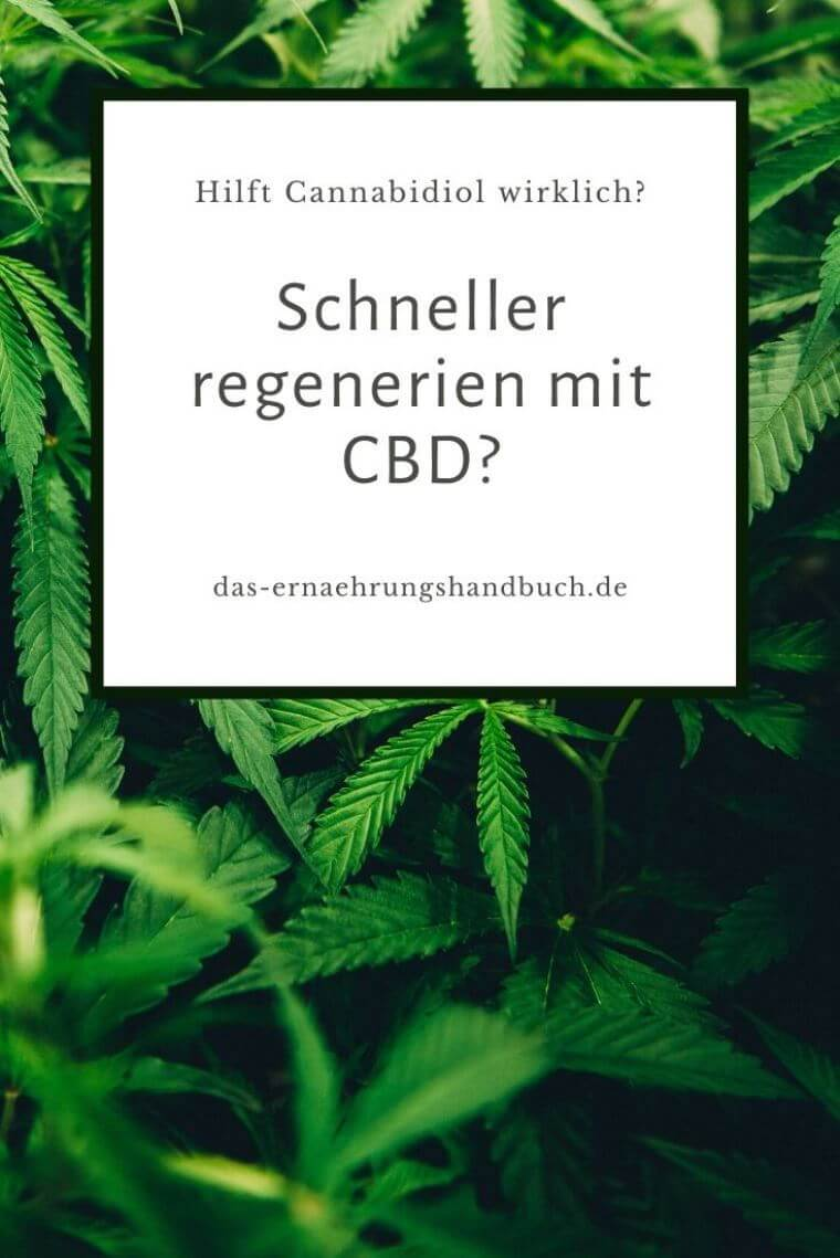 Regeneration mit CBD