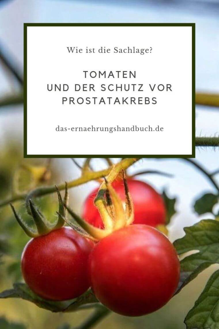 Tomaten Prostatakrebs
