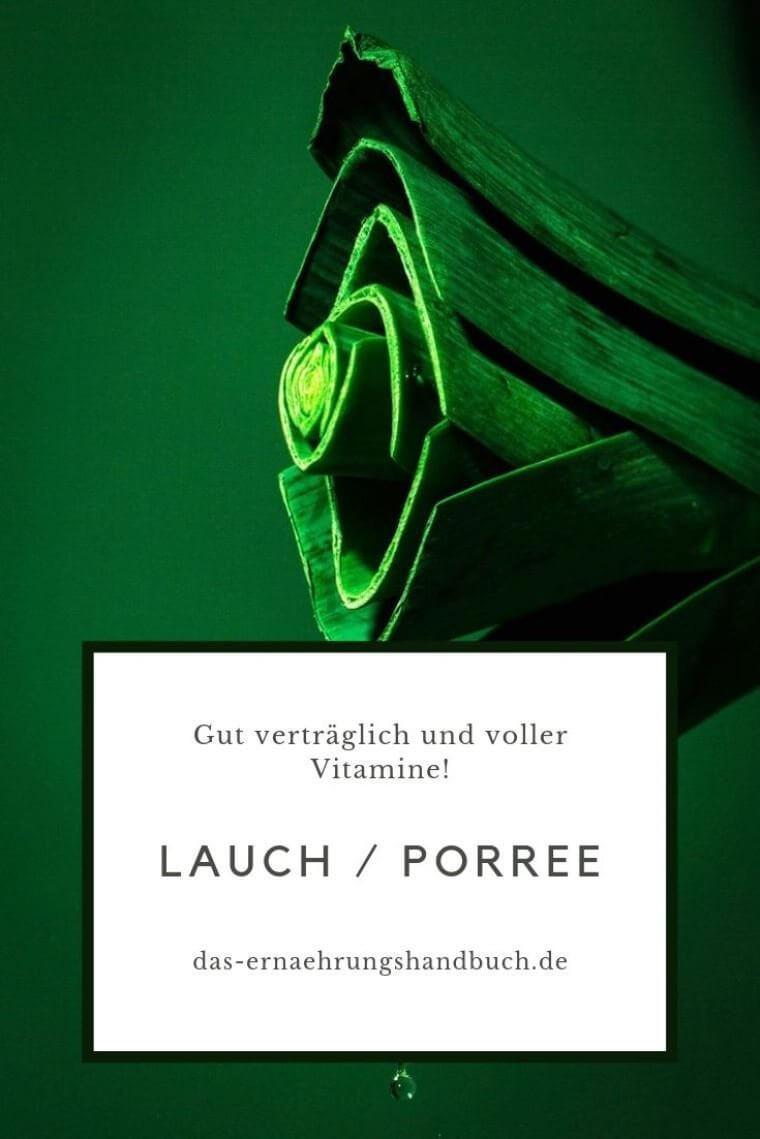 Lauch Porree