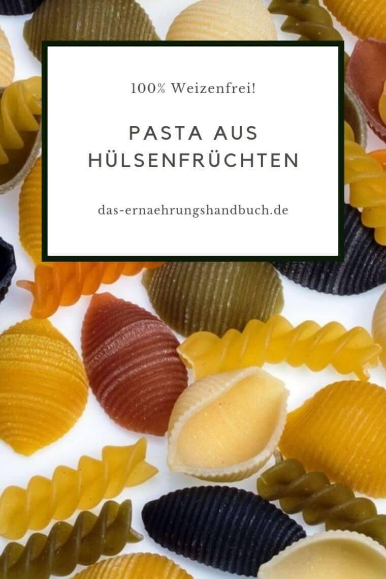 Pasta aus Hülsenfrüchten