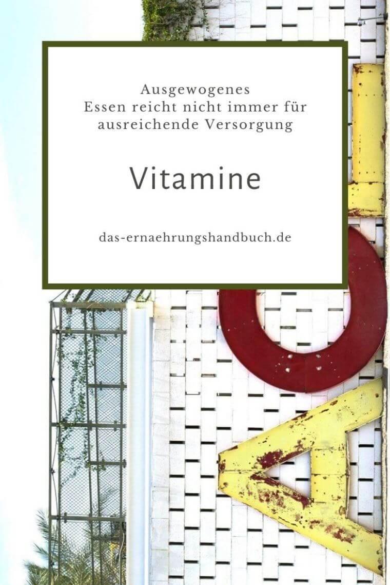 Vitamine / Vitaminmangel