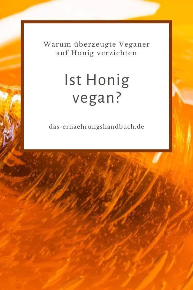 Ist Honig vegan?