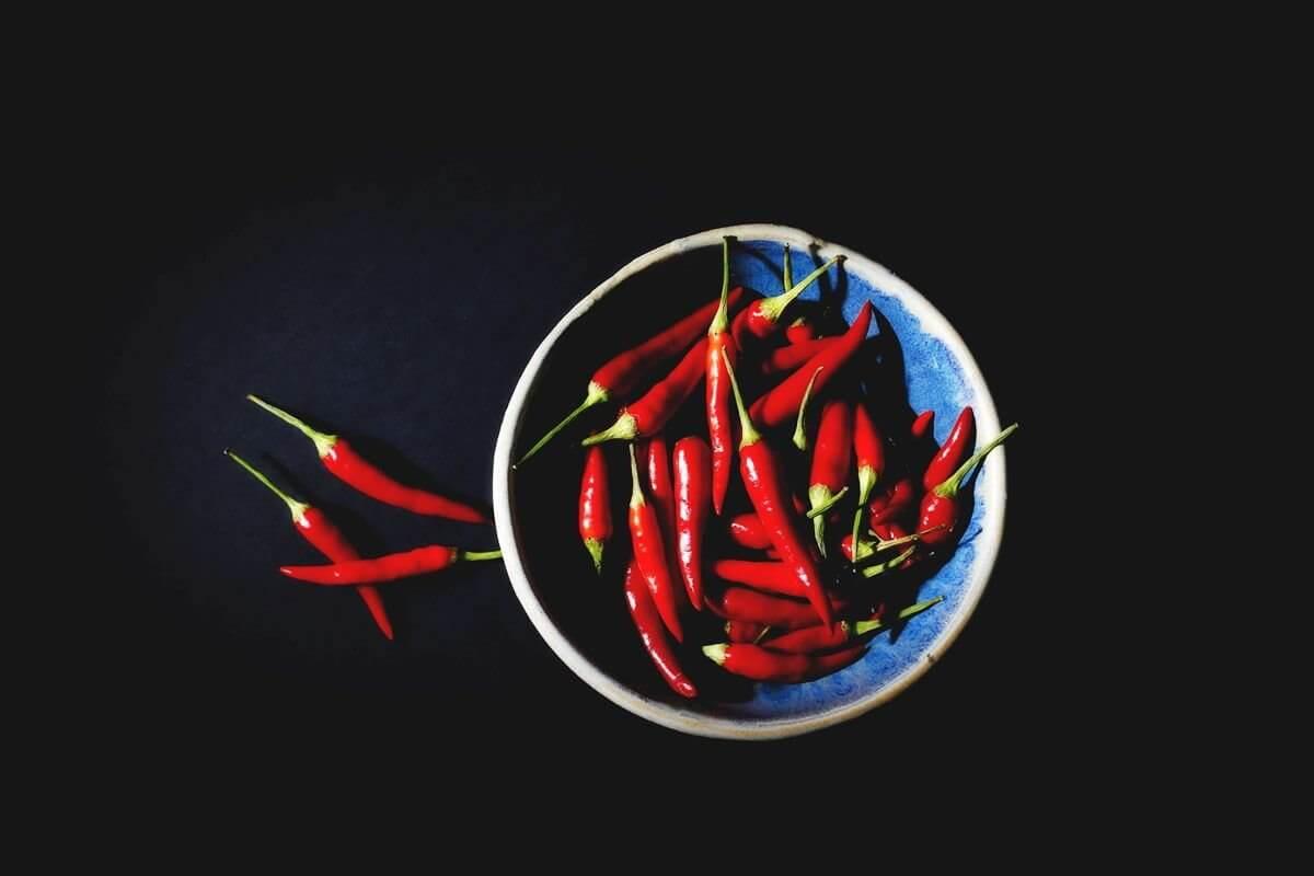 Peperoni und Chili