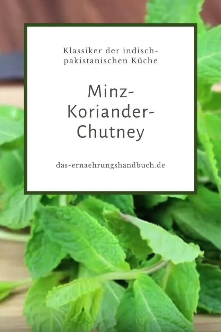 Minz-Koriander-Chutney