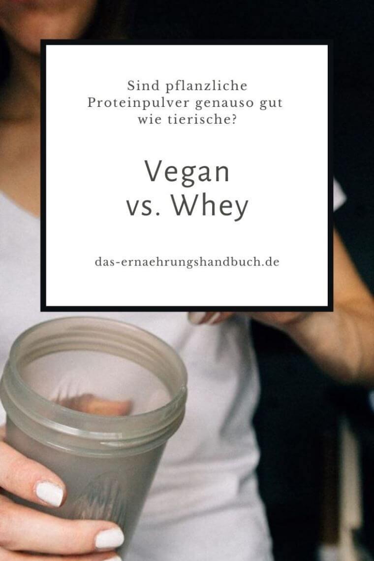 Vegan vs. Whey – Sind pflanzliche Proteinpulver genauso gut wie tierische?