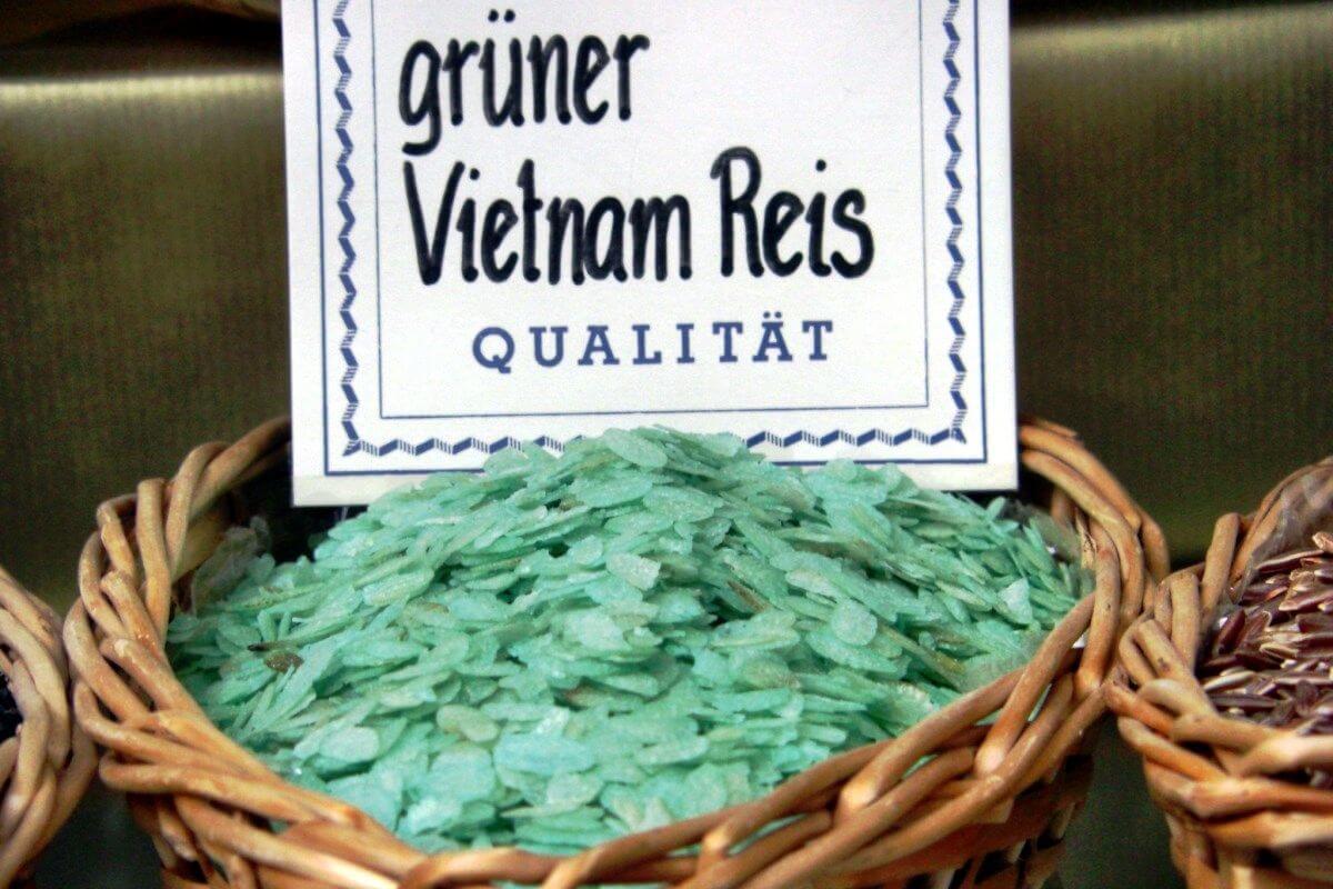 Grüner Reis