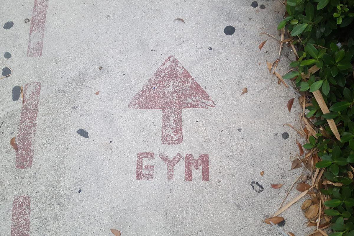 Gewichtszunahme durch Muskelaufbau