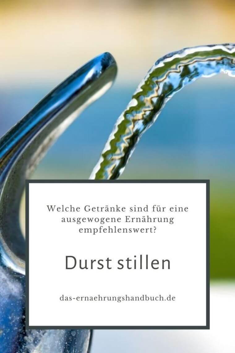 Durst stillen
