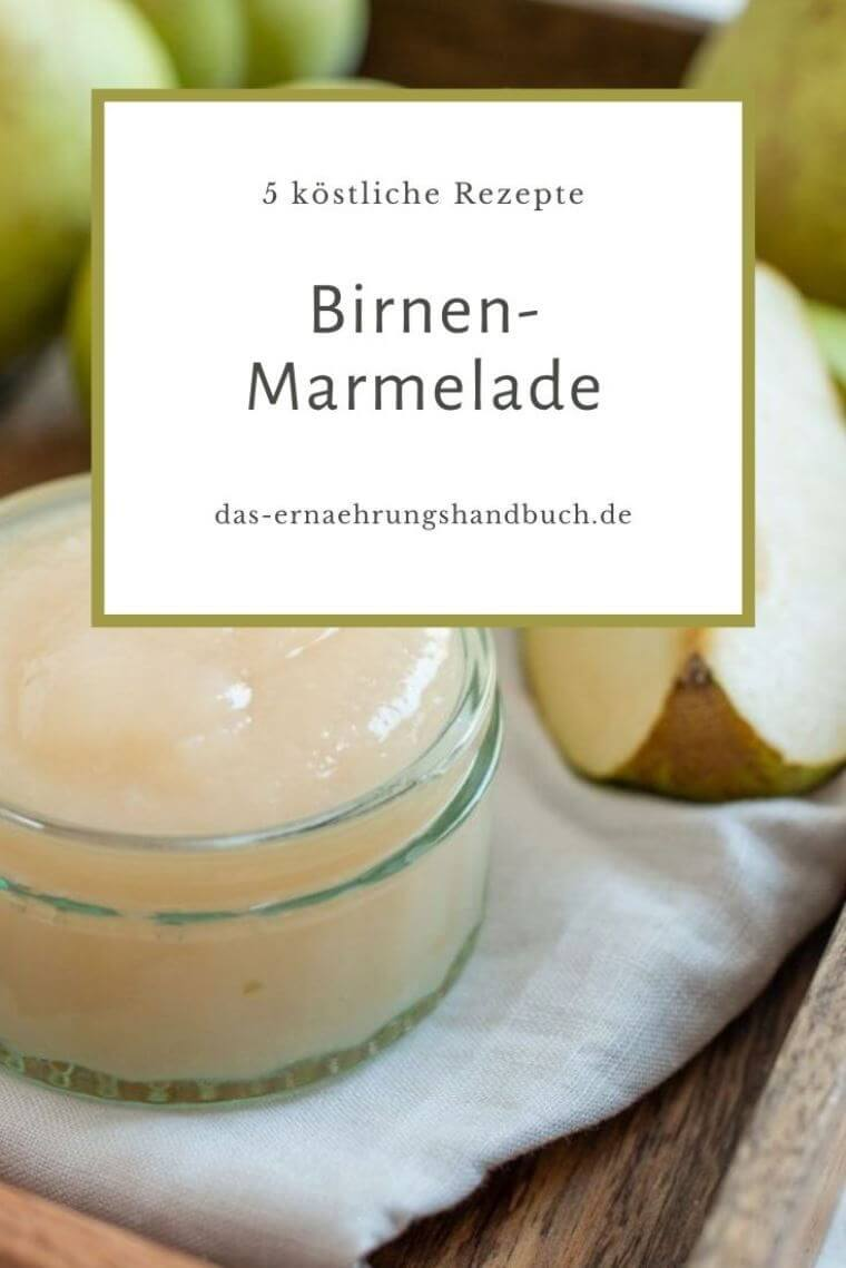 Birnen-Marmelade